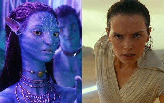 Fotografía de Avatar y Star Wars