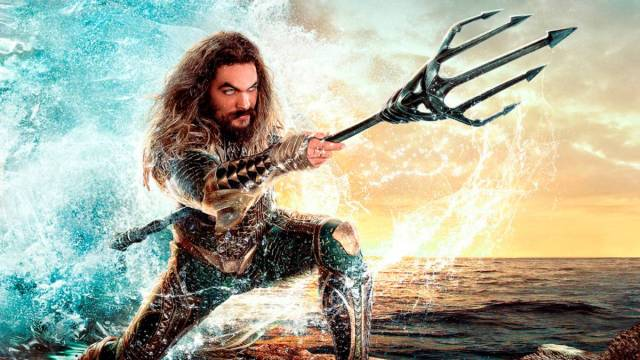 Fotografía de Aquaman, Jason Momoa