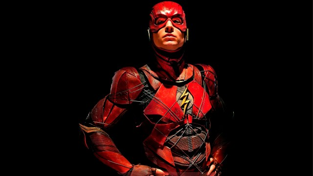 Fotografía de The Flash, Ezra Miller