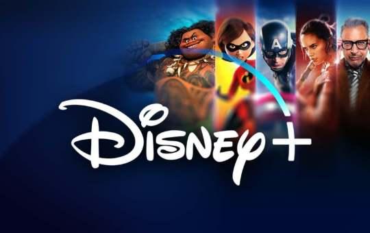 Imagen con personajes de Pixar, Disney, Marvel Studios y Star Wars