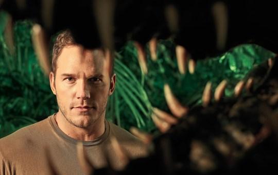 Fotografía de Chris Pratt en Jurassic World