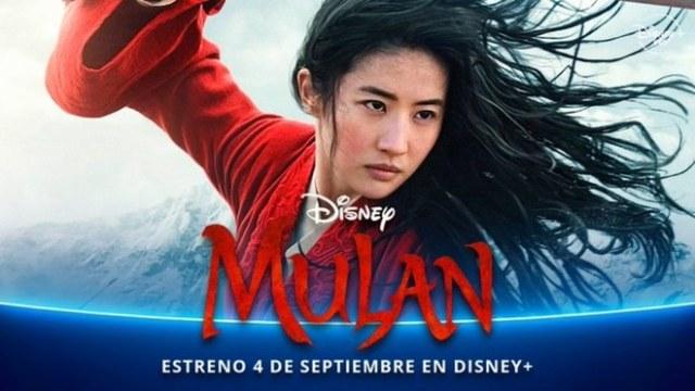 Imagen de Mulán con fecha de estreno en Disney+