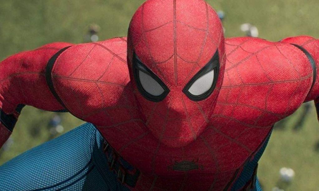 Fotografía de Tom Holland como Spider-Man