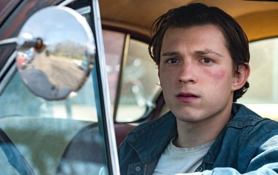 Tom holland y Robert Pattinson en The Devill All the Time