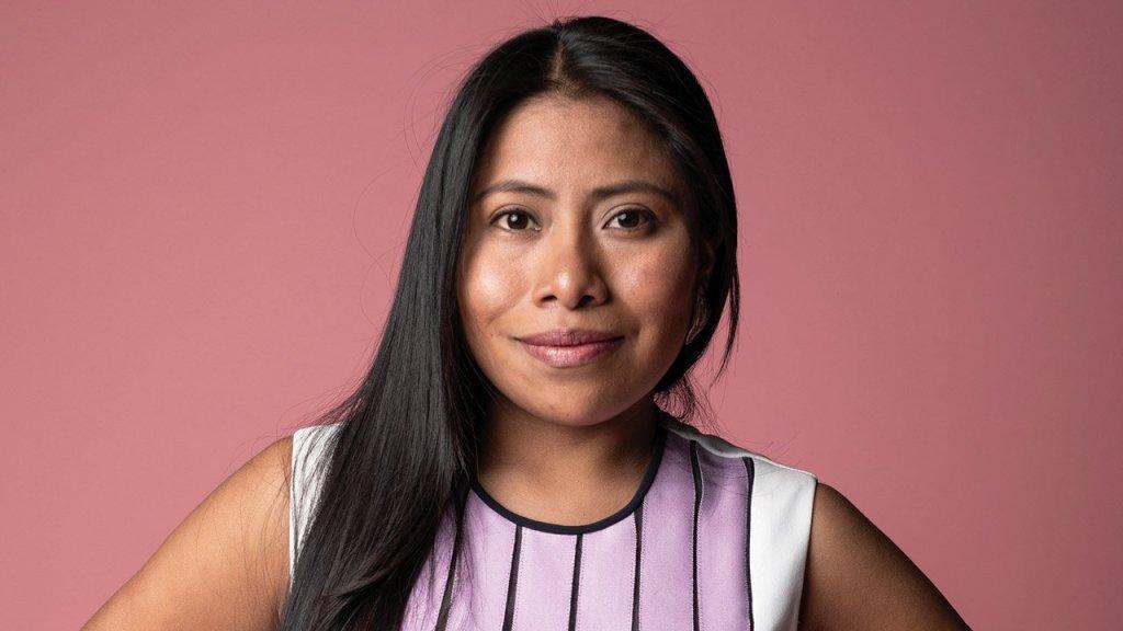 Fotografía de Yalitza Aparicio, quien abrió su canal de YouTube