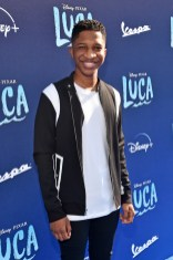 LOS ANGELES, CALIFORNIA - JUNE 17: Lex Lumpkin arrives at the world premiere for LUCA, held at the El Capitan Theatre in Hollywood, California on June 17, 2021. (Photo by Alberto E. Rodriguez/Getty Images for Disney)