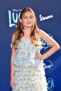 LOS ANGELES, CALIFORNIA - JUNE 17: Emma Berman arrives at the world premiere for LUCA, held at the El Capitan Theatre in Hollywood, California on June 17, 2021. (Photo by Alberto E. Rodriguez/Getty Images for Disney)