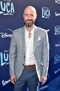 LOS ANGELES, CALIFORNIA - JUNE 17: Dan Romer arrives at the world premiere for LUCA, held at the El Capitan Theatre in Hollywood, California on June 17, 2021. (Photo by Alberto E. Rodriguez/Getty Images for Disney)