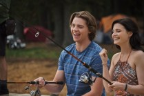 THE KISSING BOOTH 3 (2021) Joel Courtney as Lee and Meganne Young as Rachel. Cr: Marcos Cruz/NETFLIX