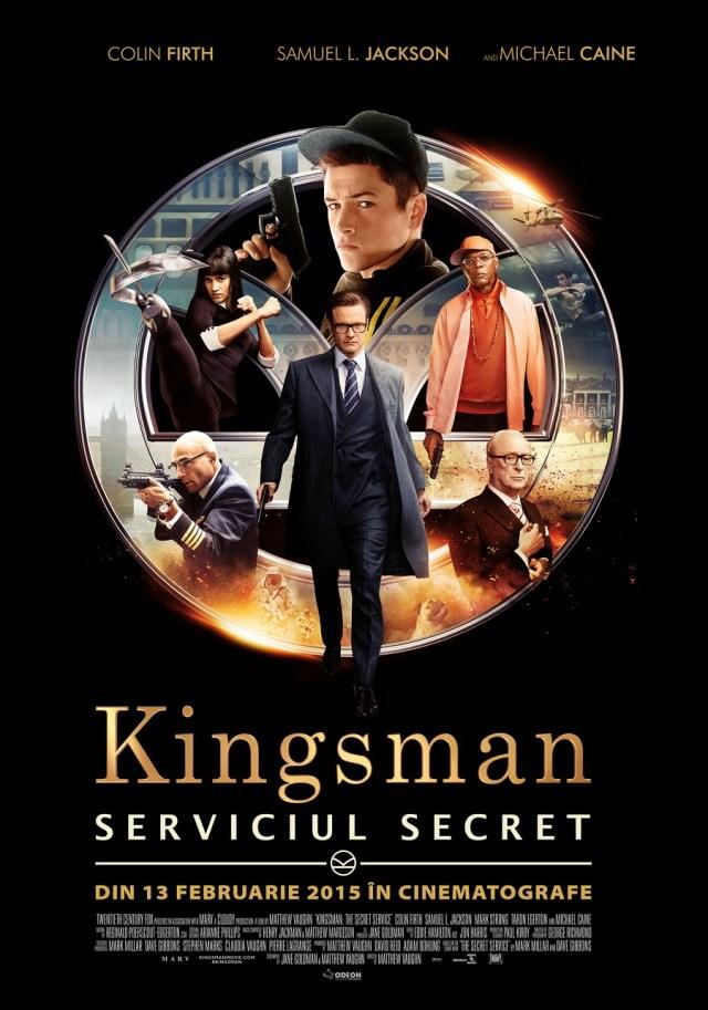 Kingsman Serviciul Secret Poster Romana