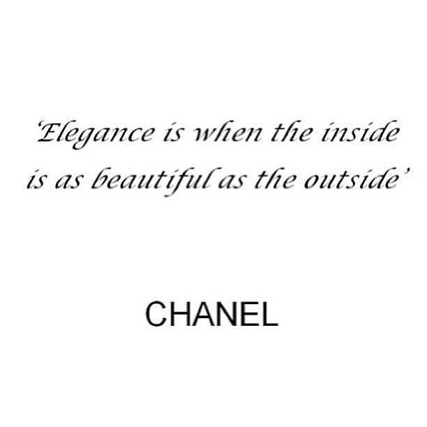 Elegance Chanel
