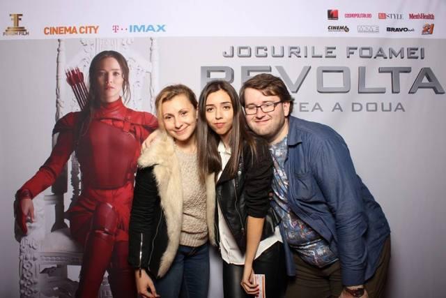 Iulia Boiu Andreea Mihaila Emil Calinescu Hunger Games