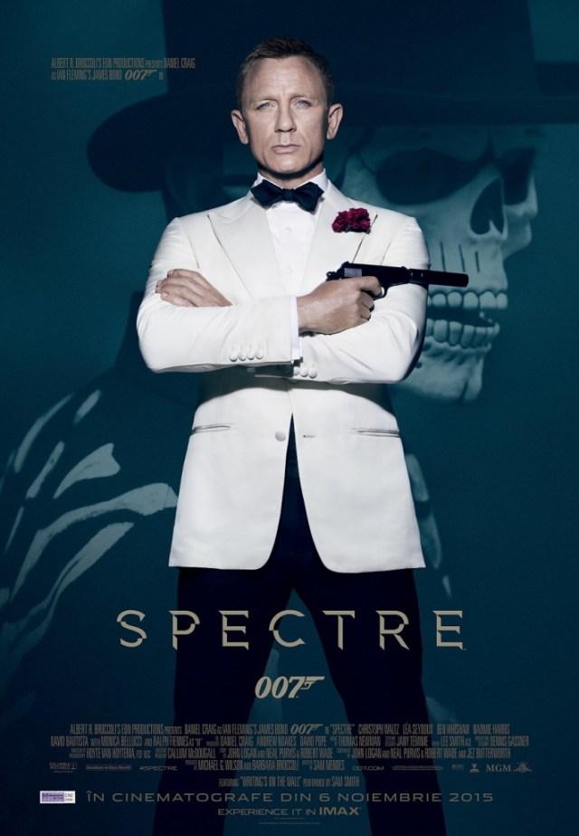 James Bond Spectre POSTER