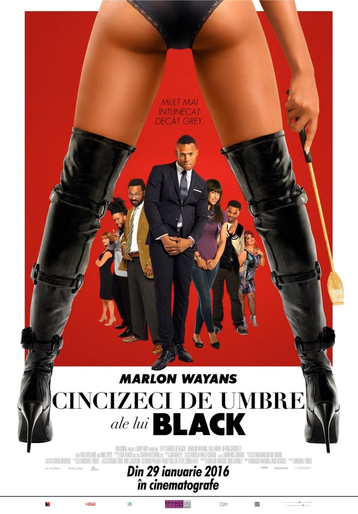 POSTER Fifty Shades of Black