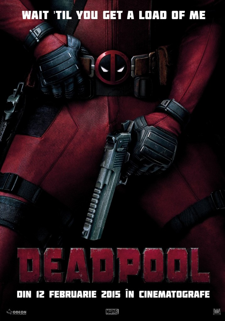 Deadpool POSTER ROMANIA