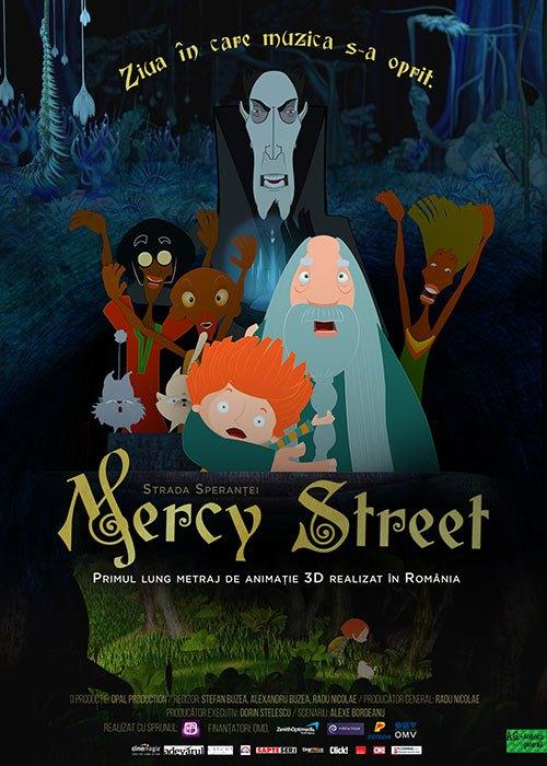 Primul film romanesc 3D Mercy Street POSTER