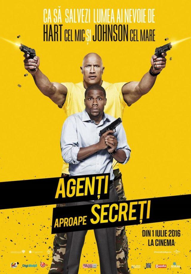 Agenti aproape secreti - Central Intelligence POSTER