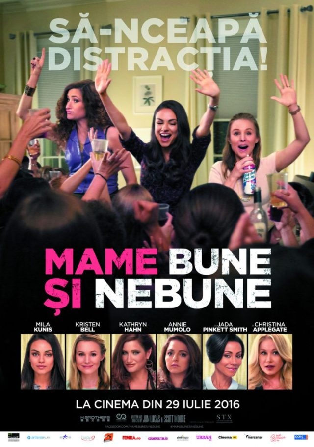 Bad Moms Mame bune si Nebune POSTER