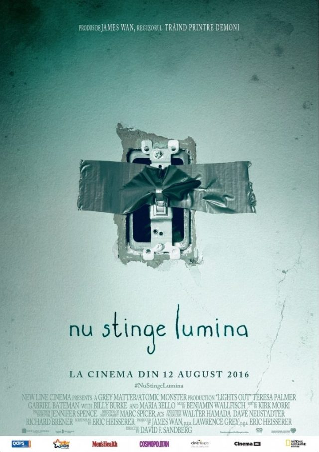 Nu stinge lumina Lights Out poster