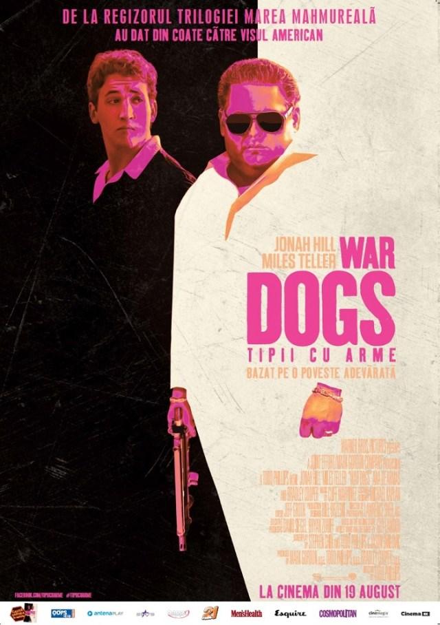 War Dogs Tipii cu arme POSTER ROMANIA