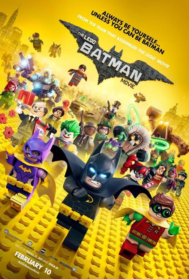 Lego Batman este un fel de sut-centrare