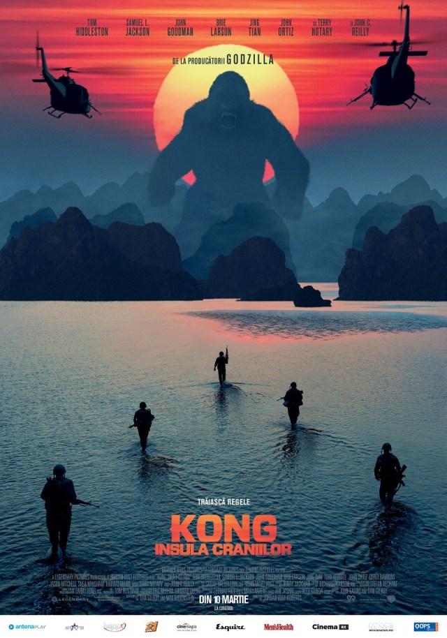 Kong – Insula Craniilor este un film sec