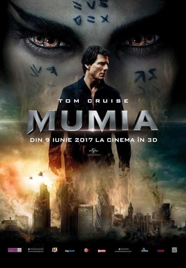 Mumia 2017 sau Mumia lui Tom Cruise
