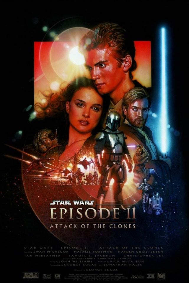 Nu mai pot vedea filme la TV. Razboiul stelelor: Atacul clonelor.