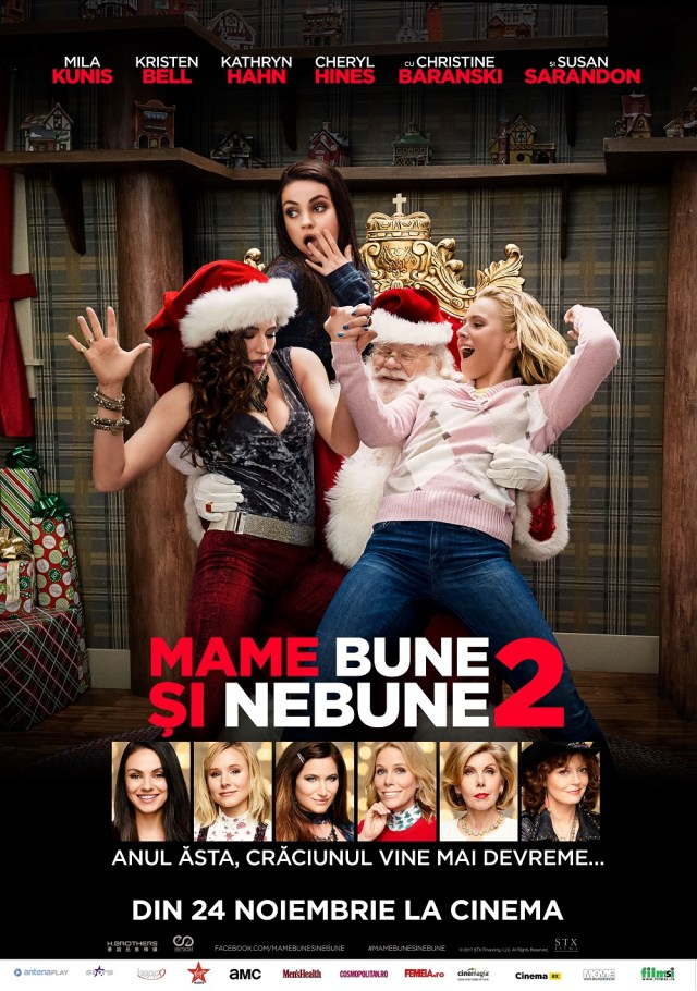 A Bad moms Christmas – Mame bune si nebune 2