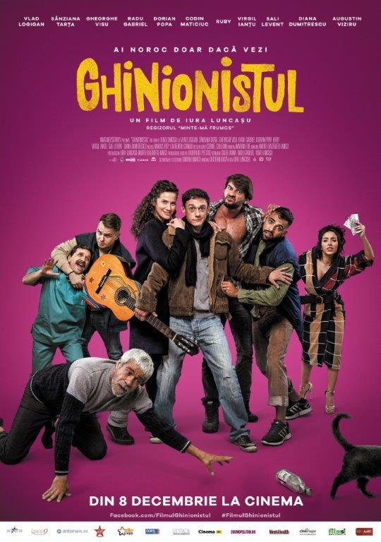 Filmul Ghinionistul are unele dintre cele mai misto personaje secundare