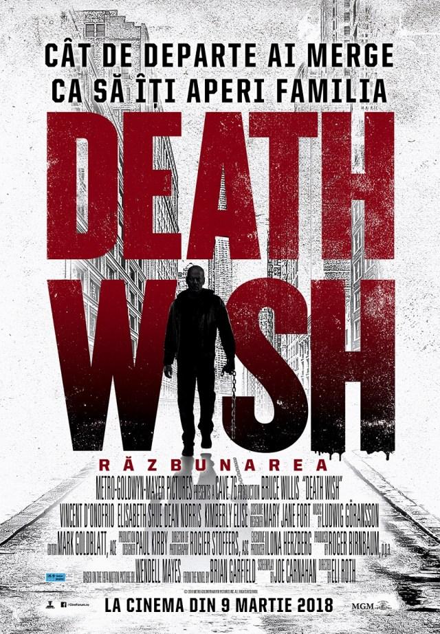 Trif Vlad despre Death Wish – Razbunarea