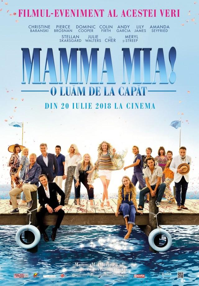 Mamma Mia! O luam de la capat 2018