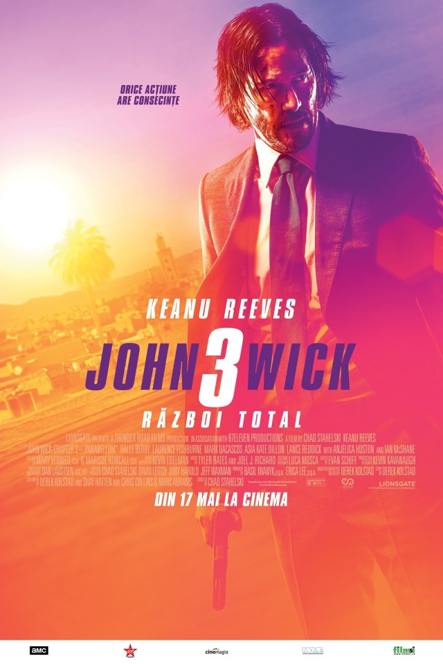 John Wick 3: Razboi Total –  John Wick: Chapter 3 – Parabellum