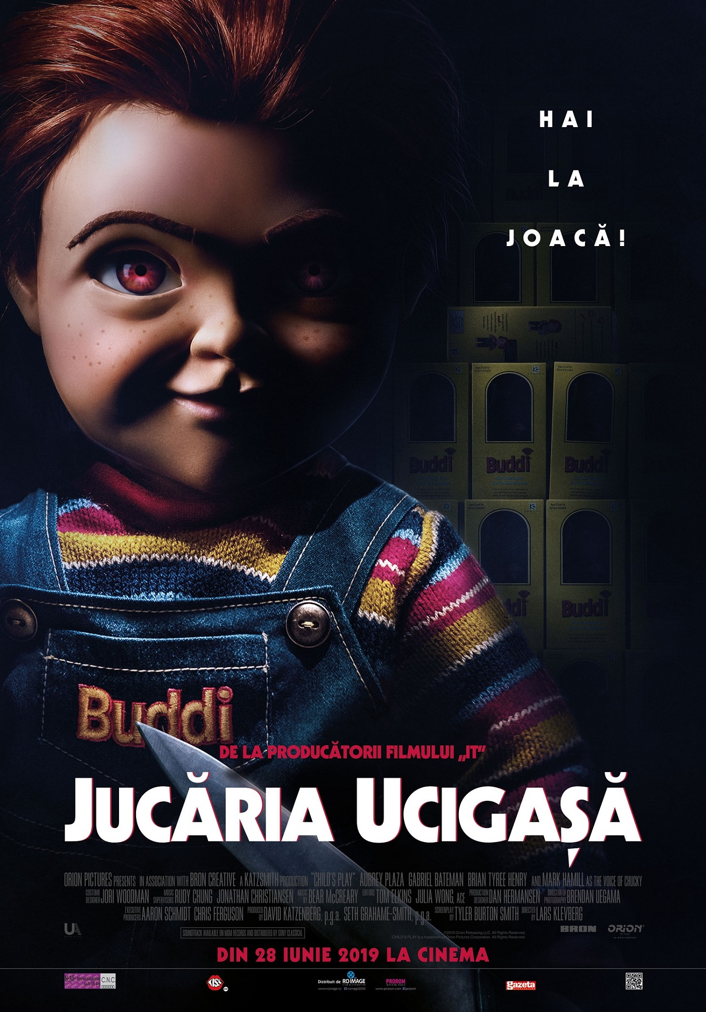 Jucaria Ucigasa - Child's Play POSTER ROMANIA