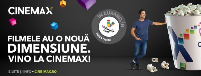 Cinemax Veranda – cel mai nou cinematograf multiplex din Bucuresti