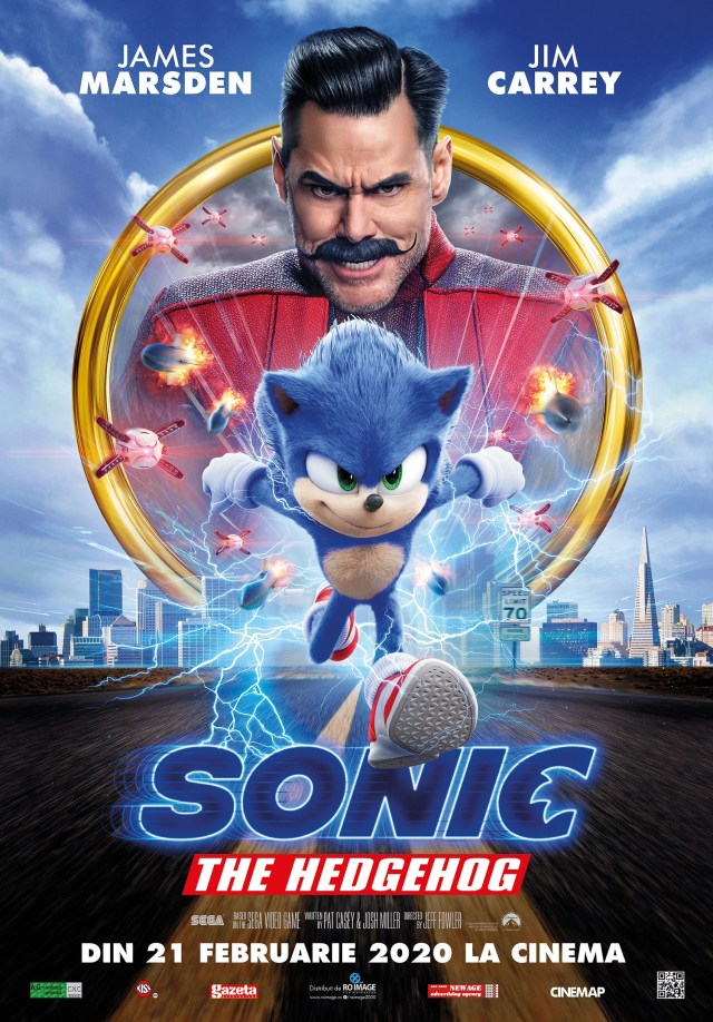 Sonic the Hedgehog filmul