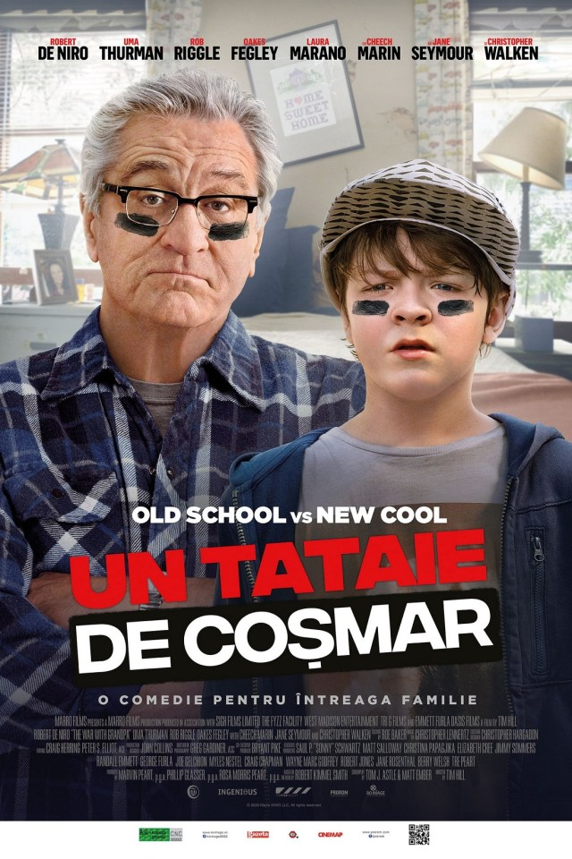 Un tataie de cosmar – The War with Grandpa