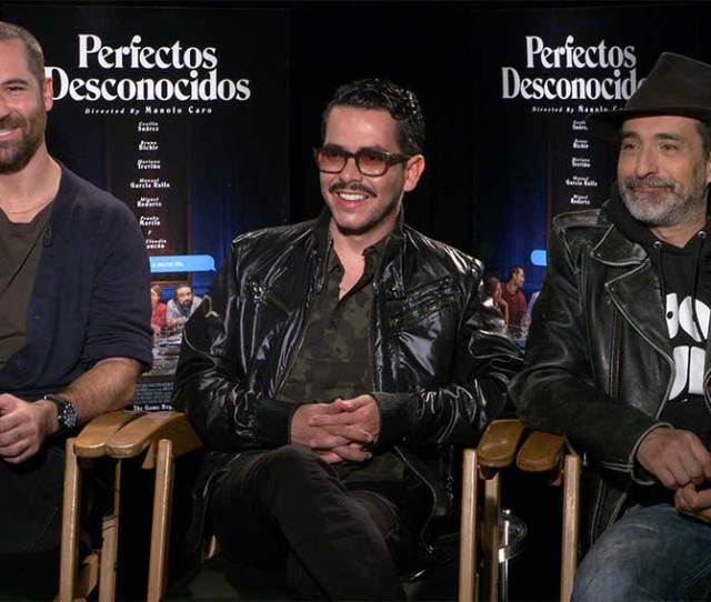 Interview Manuel Garcia Rulfo Bruno Bichir Perfectos Desconocidos Director Manola
