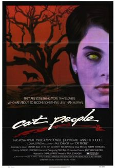 US poster for Cat People. Artist unknown