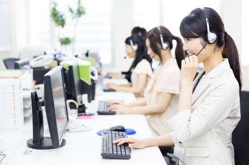 日本語サポートの体制も万全