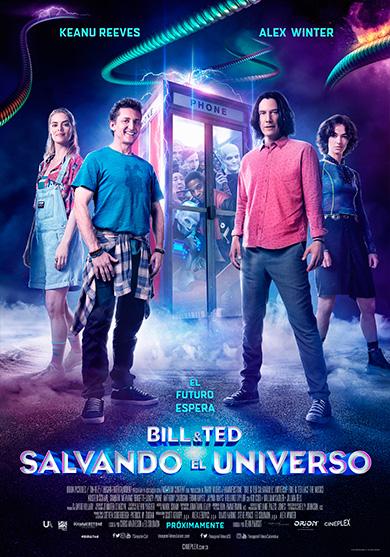 BILL & TED SALVANDO EL UNIVERSO