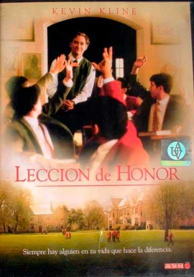 LECCIÓN DE HONOR