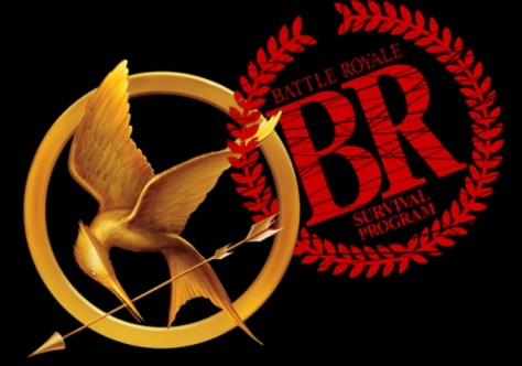 hunger games battle royale