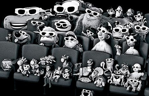 pixar watching movies