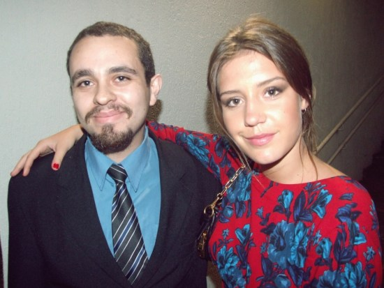 Alex Gonçalves and Adèle Exarchopoulos
