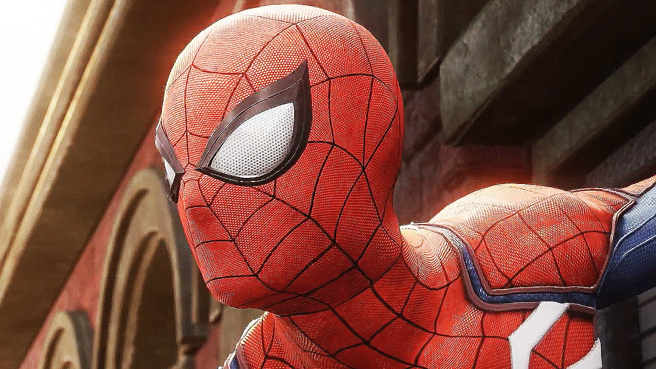 Spider-Man Ps4 2017 E3 Gameplay