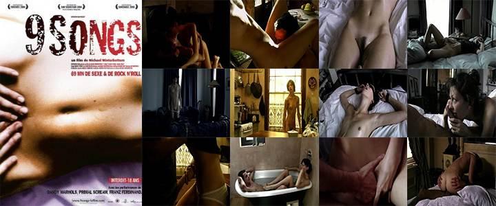 9 Songs (2004) Poster - Free Download & Watch Full Movie @ cinerotic.net