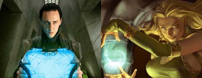 Thor 3 Ragnarok: la relación entre Loki y Encantadora
