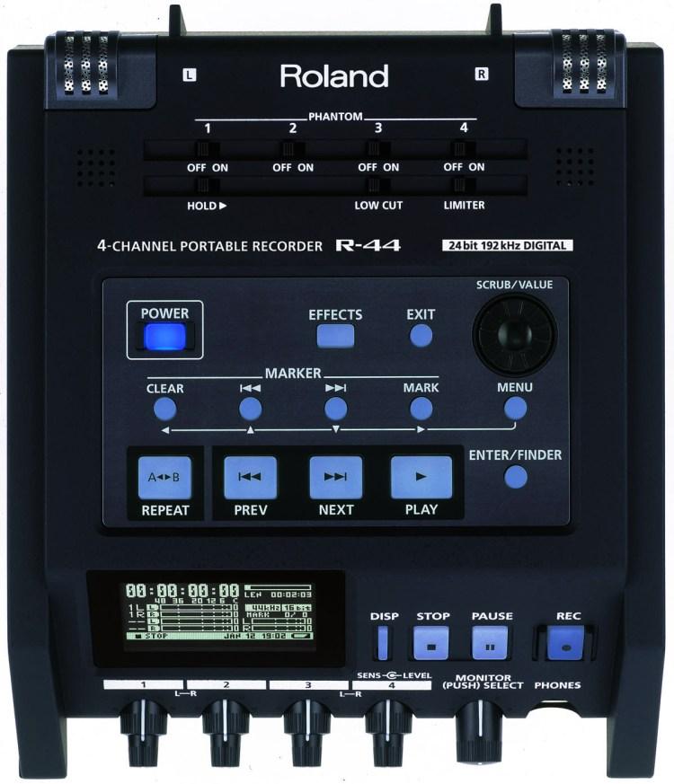 Roland R-44 4 Top
