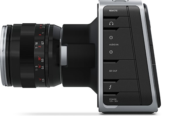 Blackmagic Design Cinema Camera 3k For 2 5k Raw Uncompressed